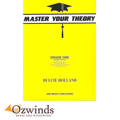 Master Your Theory Grade One - Dulcie Holland, Revised Edition