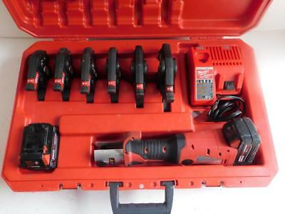 Milwaukee 2673-22 Force Logic Press Pressing Tool W 6 Jaws Awesome Condition