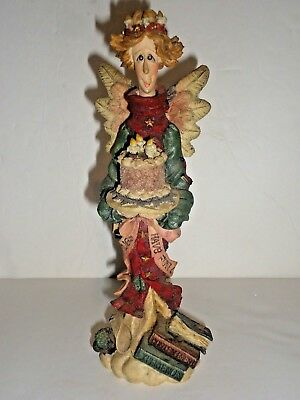 Boyds Bears & Friends Beatrice The Birthday Angel The Folkstone Collection