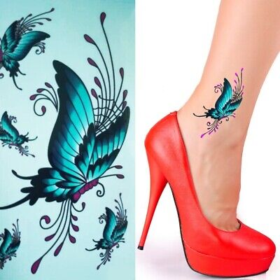 Einmal Tattoo Ornament Temporary Tattoo Aufkleber Temporäre Tattoos RC219