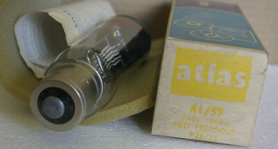 A1/59 240V 1000W Atlas Projector Lamp New Old Stock