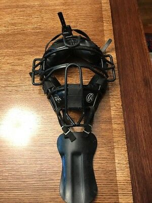 Rawlings Adult PWMX Catchers Or Umpires Face Protector Mask Neck Protect
