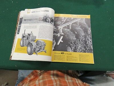 Vintage John Deere 1962 Modern Farming Buyers Guide brochure
