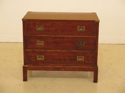 F30253EC: Campaign Style 3 Drawer Cherry Bachelor Chest