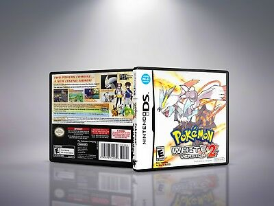 Pokemon White Version 2 - Replacement Nintendo DS Cover and Case. NO GAME!!