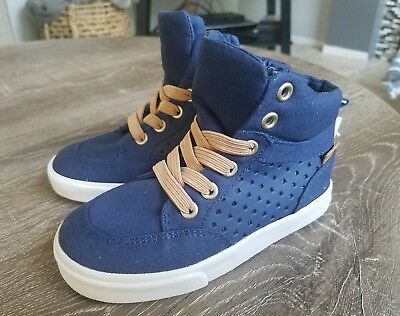 New Old Navy Toddler Boys Perforated High-Tops Size 9 navy Color