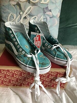 Vincent Van Gogh Vans - Limited Edition - Almond Blossom - New With Box