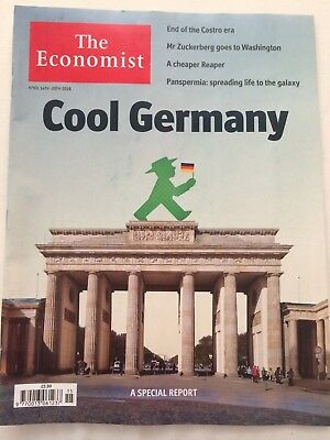 The Economist magazine April 14th-20th 2018 (Cool Germany)