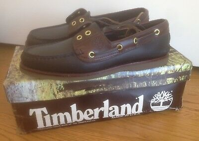 Timberland Boat Shoes Made In USA vintage 80s anni 80 Paninaro Paninari