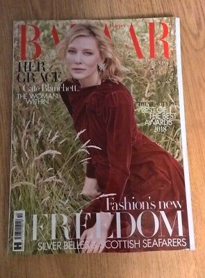 Harper's Bazaar Magazine October 2018 - Cate Blanchett (NEW)