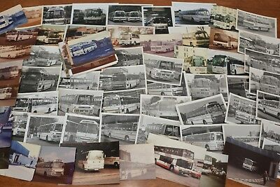 National Travel Huge Job Lot Of 78 Photos Of Vintage Coaches Assorted Ref 839