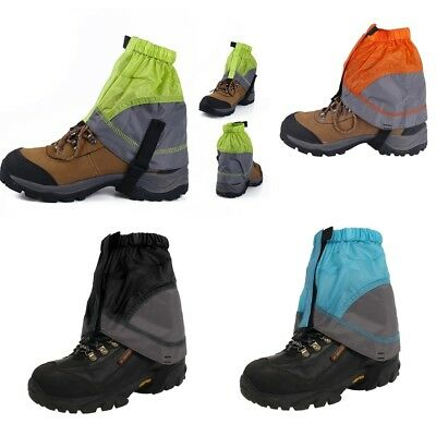 Waterproof Walking Boots Leg Gaiters for Snow Outdoor Camping Hiking Climbing