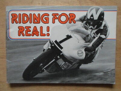 Riding For Real 1978 Publicity Booklet Brochure From Gulf Oil Uk Ltd