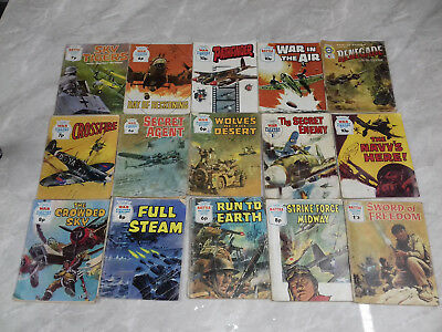 War/Battle picture library war comics x30