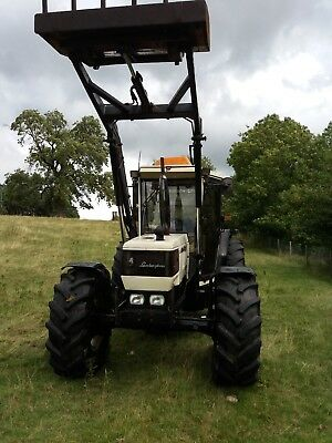 Lamborghini 674~70 tractor with loader,low hours,