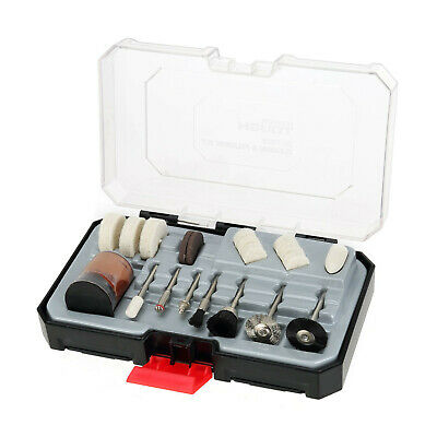 HYPER TOUGH 20-PIECE CLEANING & POLISHING SET for ROTARY TOOLS ACCESSORY KIT