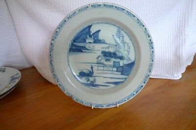 ATTRACTIVE  English Delftware  Charger