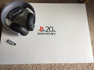 New Sony Playstation 4 20th Anniversary Limited Edition PS4 & Headset