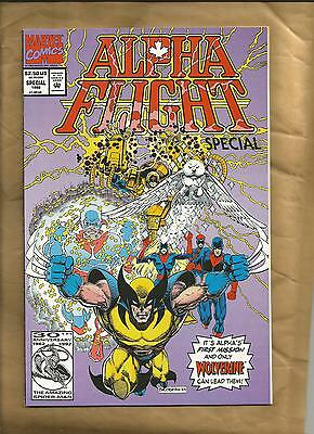 Alpha Flight Special #1 vfn 1992 Marvel comics one-shot Wolverine