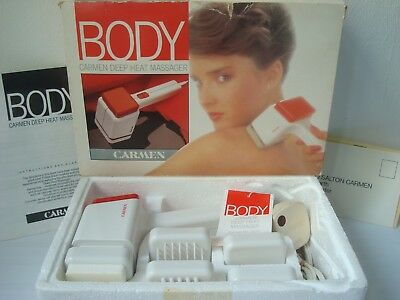 Vintage Carmen Deep Heat Body Massager Pain Relief Soother