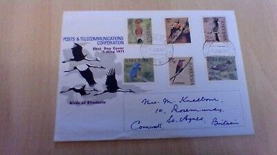 1971 Rhodesia Post And Telecommunications First Day Cover