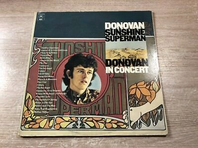 2 LP Epic ‎EPC 22016 Donovan ‎– Sunshine Superman / In Concert FOC DUTCH VINYL
