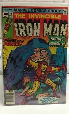 Lot of 4 Iron Man #'s Sept 90, Oct 91, Dec 93 & Jan 94 from 1976-77 (SHIP FREE)