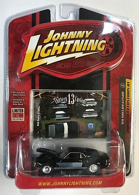 JOHNNY LIGHTNING THIRTEEN 13 CUSTOMS R1 '69 SHELBY GT500 # 3 from 2007 Ages 8+