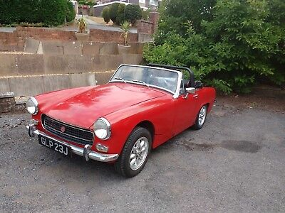 MG Midget convertable