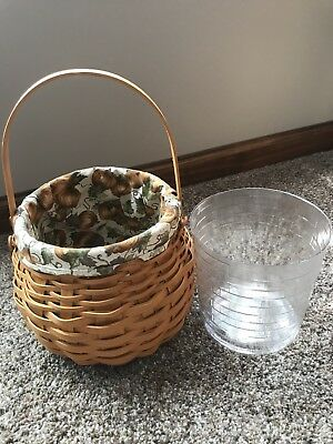 Longaberger Basket With Accessories Included