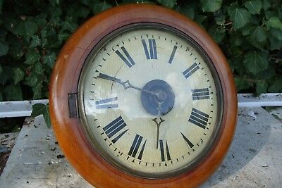 wall  clock  POST MANS  ALARM CLOCK TICKING  FOR REPAIR
