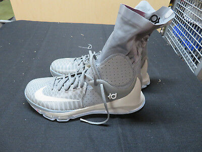 finest selection 641f7 57c0d Nike Kevin Durant KD 8 Elite Tumbled Gray Premium New Size 8 834185-001