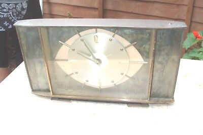 Mantel  Clock Metamec  French Movement  Working  Time Piece