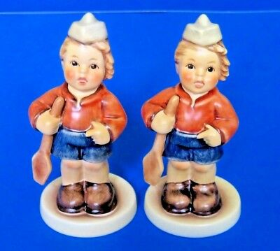2 ( Two ) First Mate Hummels #2148/b Goebel Figurine ~ Tmk8