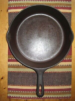 "Vintage WAGNER WARE Cast Iron No. 8 SKILLET 10 1/2"" Inch USA ""Z"""