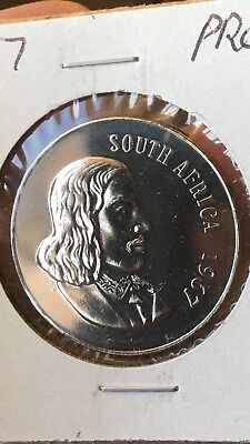 1967 South Africa 50 Cents African Lily Proof, limited mintage, rare