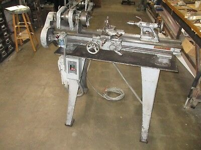 """South Bend 9"""" Lathe Model 415-ZA 3.5' Bed on stand"""
