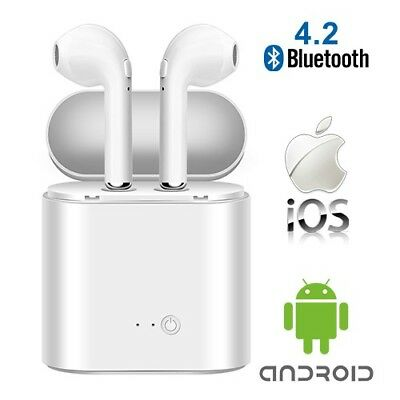 AirPods Wireless Universal Bluetooth Ear Head Set w/ Charging Case