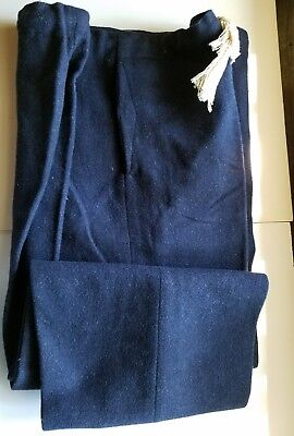 vtg 60's Wool Loden pants France US Air Base Chateauroux