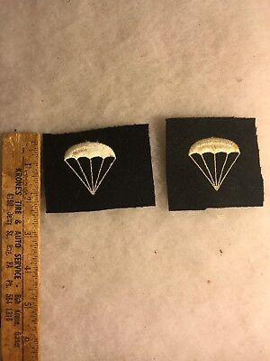 Lot Of 2 WW2 US Navy Parachutist Sleeve Rate Striker (A577