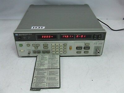 Agilent Hewlett Packard HP 8970B Noise Figure Meter opt 020 *Working*