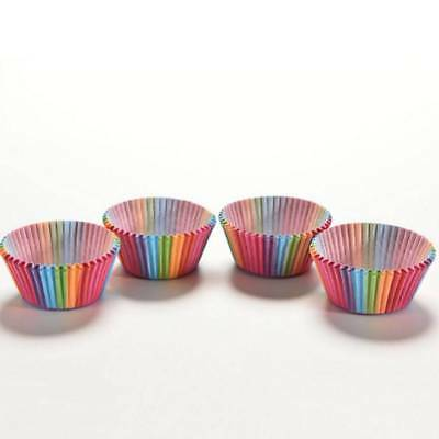 100PCS Muffins Paper Cupcake Wrappers Baking Cups Cases Muffin Boxes Cake Cup