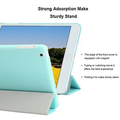 Slim Leather Auto Sleep Case Smart Cover Stand For Apple iPad 4 3 2 Pro Mini Air