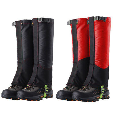 Outdoor Waterproof Hiking Climbing Sports Winter Snow Cover Boot Gaiters Latest