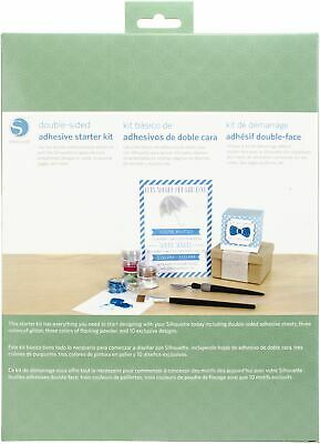 """/""""Silhouette Double-Sided Adhesive Sheets 8.5/""""/""""X11/""""/"""" 8//Pkg- Set Of 2/"""""""