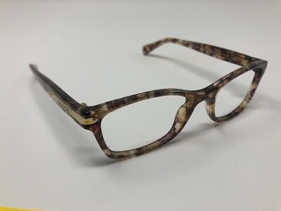 88c5b967f5201 Coach Eyeglasses HC6065 6065 5287 Confetti Light Brown Gold Optical Women s  CE22