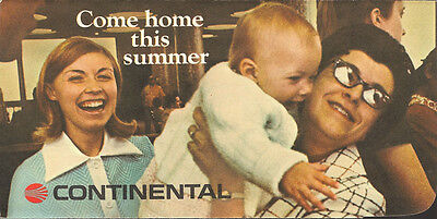 Continental Airlines ticket jacket come home [5073] Buy 2 get 1 free