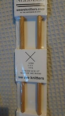 We are Knitters Stricknadeln 8mm