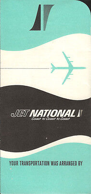 National Airlines ticket jacket wallet 1965 [4121] Buy 2 get 1 free