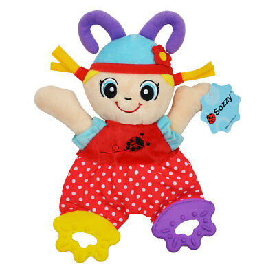 Baby Brand New Teether Towel Cute Soft Appease Stuffed Toy Baby Loyal Ppartner